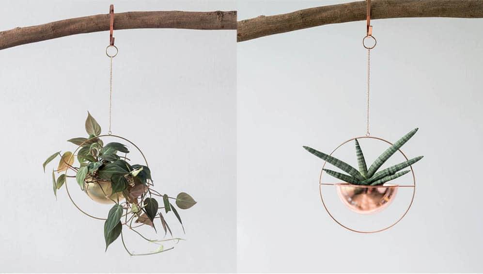 Metal hanging planter Singapore